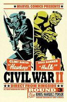 Civil War 2  #4  Michael Cho Variant Cover IMMORTAL SHE  HULK COVER B 1ST PRINT