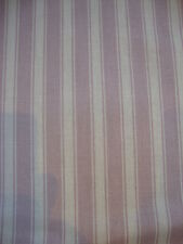 90cm Sanderson Tiger Stripe Lavender/lilac Cotton Curtain Fabric Remnant