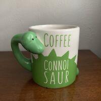 Bigmouth Inc Coffee Connoisaur Oversized Coffee Mug Tea Cup Dinasour