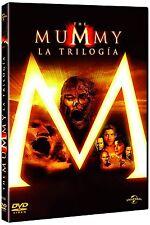 LA MOMIA LA TRILOGIA DVD COMPLETA PACK DE 3 PELICULAS NUEVO ( SIN ABRIR )