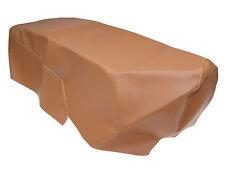 Housse de siège pour banquette marron clair cuir / simili PIAGGIO ZIP 2000 C25