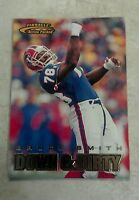 BRUCE SMITH 1997 SCORE PINNACLE ACTION PACKED DOWN & DIRTY CARD # 116 B0837