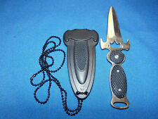 New Athame Dagger Ritual Knife w/Necklace & Sheath