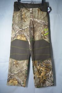 Under Armour Real Tree Boys Large Scent Lock Camouflage Hunting Pants