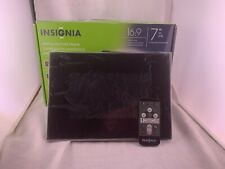 """Insignia 7"""" Digital Picture Frame - Wide Format 16:9 (Open Box, Tested)"""