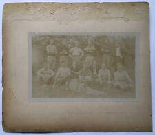 Antique 1880 Original BASEBALL Team PHOTOGRAPH Semi Pro African American MERIDAN