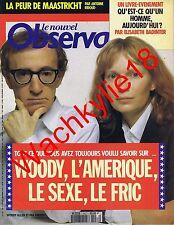 Le nouvel observateur n°1451 du 27/08/1992 Woody Allen Mia Farrow Chamoiseau
