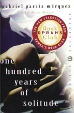 One Hundred Years of Solitude (Oprah's Book Club) - Paperback - VERY GOOD