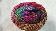 Noro Silk Garden #415 Pink Green Purple & Tan Mix 50g