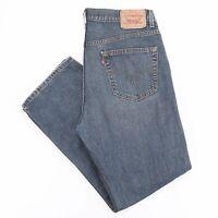 Vintage LEVI'S 559 Blue Denim Relaxed Straight Jeans Mens W36 L32