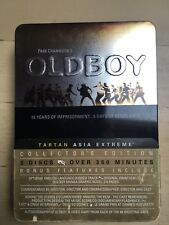 Oldboy - Tartan Asia Extreme Collector's Edition (3 DVDs, Film Cell, Manga)