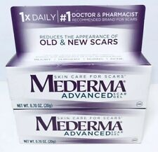 Mederma Advanced Skin Care For Scars Gel 0.7 oz exp 2021+, Lot of 2,3203