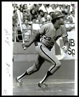 1977 Philadelphia Phillies BAKE McBRIDE Batting Original Photo Type 1