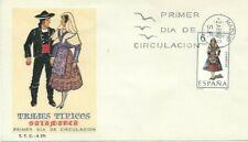 FDC Primo Giorno Spagna 1970 Abiti Tipici Salamanca