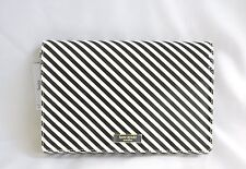 Kate Spade Purse Crossbody Purse Clutch Vionette Black Cream Ocean Side Stripe