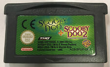 2 Games In 1 Scooby-Doo Cartridge Only (Nintendo Game Boy Advance, 2004)