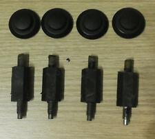 4pcs Engine Cover Bolt Clip fit PEUGEOT 307 406 206 806 CITROEN C5 Xsara 2.0 HDI