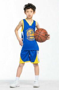 Kids Basketball Kit Training Suit Sport Vest Shorts Jerseys Set Tracksuit Gifts