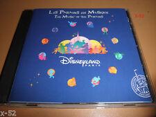 DISNEYLAND PARIS cd MUSIC of PARADES disney XMAS main street electrical parade
