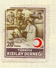 Turkey 1950s Child Welfare Early Issue Fine Mint Hinged 20p. 063120