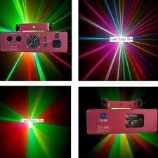 250mW 7 Color RGV DMX dj disco stage Laser Light  show equipment