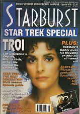 Starburst Special No.16 1993 STAR TREK SPECIAL MARINA SIRTIS,GEORGE TAKEI