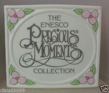 ENESCO -   PRECIOUS MOMENTS  TITLE PLAQUE  230448 ( NOT BOXED )  MINT
