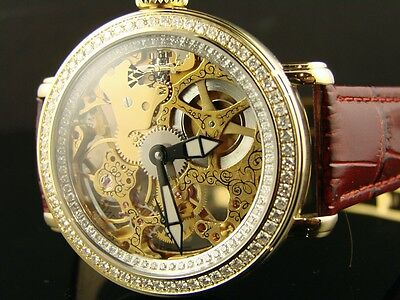 Aqua Master Jojo Joe Rodeo Vs Diamond Watch 2.70 Ct 203