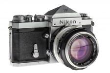 Nikon F Eyelevel chrome outfit // 32822,43
