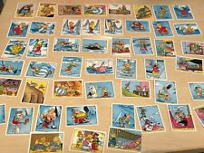 Lot of 47 x 1980s Panini Asterix Stickers - See Photos