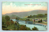 Buchanan, VA - c1913 VIEW OF JAMES RIVER BRIDGE - POSTCARD