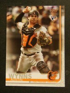 2019 Topps, Baltimore Orioles - AUSTIN WYNNS (RC)