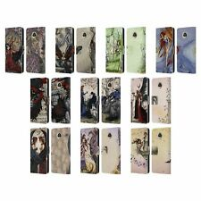 OFFICIAL AMY BROWN FANTASY LEATHER BOOK WALLET CASE COVER FOR MOTOROLA PHONES