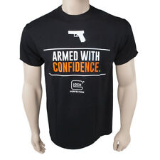 Official GLOCK Armed with Confidence T-Shirt - Choose Size / Color - NEW