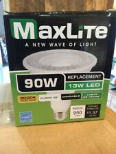 MaxLite- Dimmable LED PAR38 Flood 13w 90w Equivalent 3000K CASE Of 12