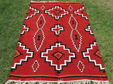 KILIM MOROCCAN TURKISH INDIAN AFGHAN INDIAN VINTAGE AREA NAVAJO RUG