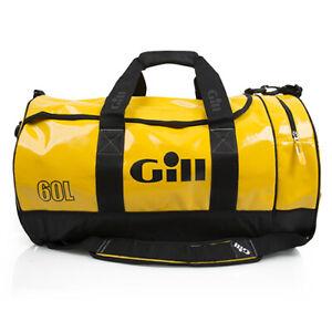 Gill Tarp Barrel Bag 40L Yellow - DGL061