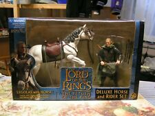 New ListingLord Of The Rings Deluxe The return Of The King Horse And Rider Set Legolas