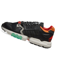 ADIDAS MENS Shoes ZX Torsion - Black, Orange & Green - EE5553