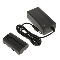 For Sony NP-F970 F750 F550 Dummy Battery Pack & AC-E6 AC Power Adapter Kit