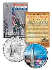 WORLD TRADE CENTER * 13th Anniversary * FREEDOM TOWER 9/11 NY State Quarter Coin