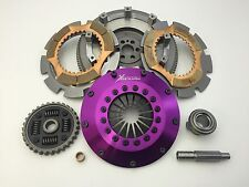 Xtreme Clutch 200mm Sprung Ceramic Twin Plate Clutch Kit & Flywheel - Skyline