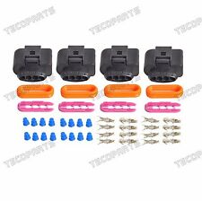 4pcs Ignition Coil Connector Repair Kit For Audi A4 A6 A8 Fits Passat For Jetta