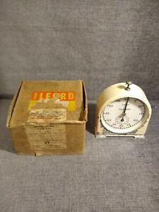 Vintage  Ilford Darkroom TIMER CLOCK Clockwork English Clock Systems Stop/Start