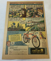 1948 BOBBY SHELBY bicycle ad page ~ VISIT THE FREEDOM TRAIN