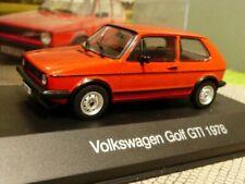 1/43 VW Golf GTI 1978 rot Golf I