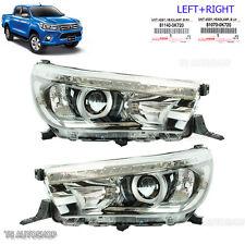 Fit Toyota Hilux Revo Sr5 M70 M80 15 2016 Set Led Head Lamp Light Projector OEM