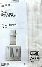 New IKEA BLARIPS Twin Duvet Cover + 1 pillow case  503.423.98