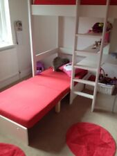 STOMPA HIGHSLEEPER BED WITH DESK AND CHAIR BED