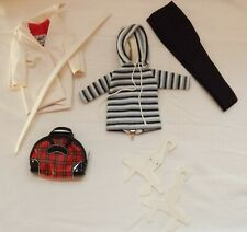 Vintage 1963 Barbie Doll Original Winter Holiday Outfit #975